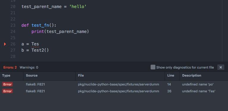 Python | Nuclide