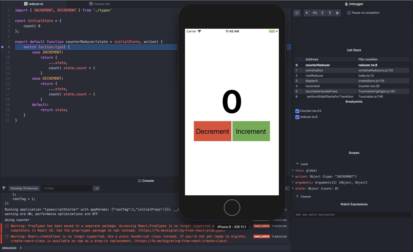 React Native Android Emulator Mac